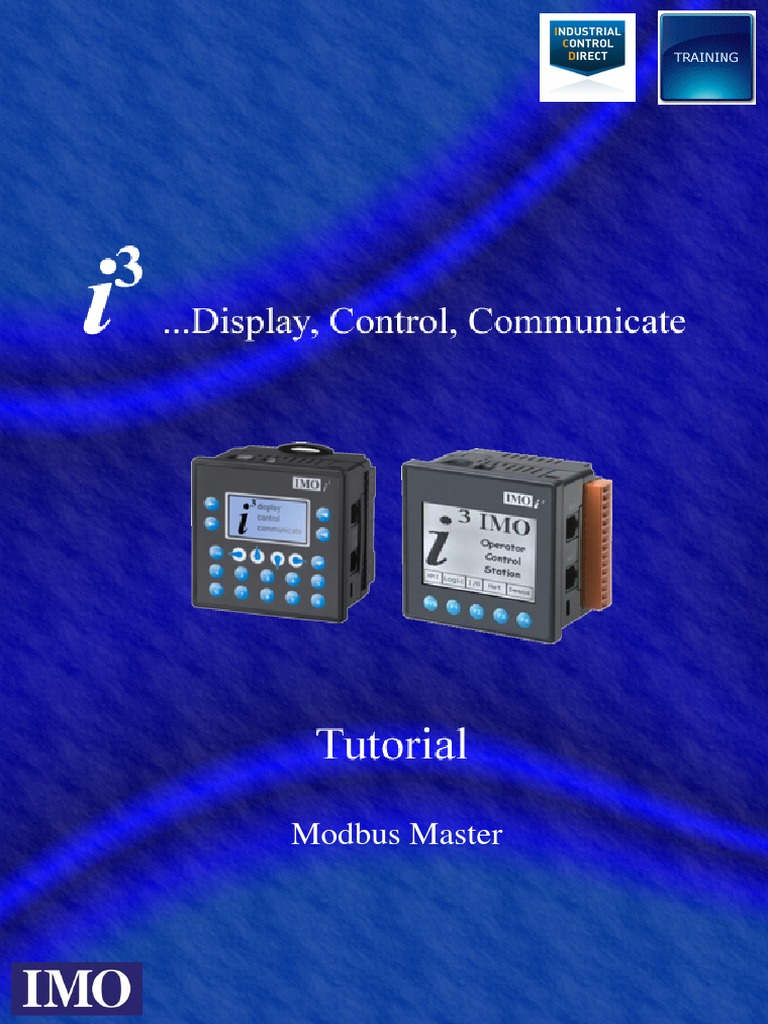 i3 Modbus Master Tutorial   Computer Engineering