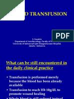 Blood Transfusion Februari 2007