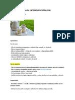 Cupcakes de Vainilla + FROSTING