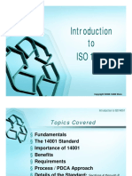 ISO 14001 Presentation Materials