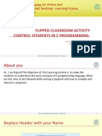 Flipped Classroom Activity Constructor RC1013