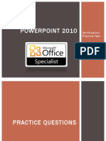 PowerPoint Practice Test