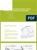 Difference Between Single Phase Wiring and Three Phase (Latest)