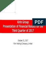Kirin Group Presentation