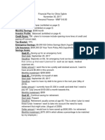 financial plan for olivia ogilvie