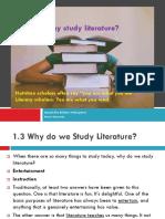 1.3 Why Study Literature