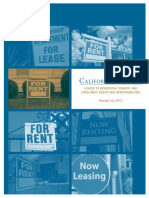 California Tenant and Landlord Rights and Responsibilities