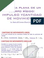 Tema 05 Cinematica Plana de Un Cuerpo Rigido Impulso y Cdm