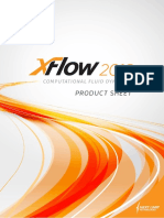 XFlow2016 Product Sheet