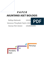 Akuntansi Aset Biologis