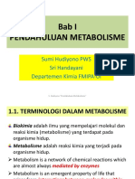 Bab 1. Pdhln Metabolisme