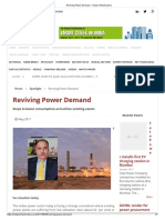 Tata Power Anil Sardana Reviving Power Demand – Indian Infrastructure