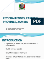 ESA RP Oct2012 Zambia Districts Challenges