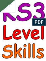 Level descriptors rainbow.doc