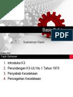 1. Pertemuan 1 K3 UNJA TK - Modul Basic Safety