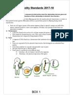 heredity standards sheet 17-18