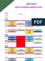 Jadwal IKD 7 2016-2017. 05 MARET 2017