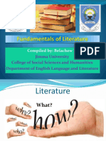 Unit 1 Fundamentals of Literature