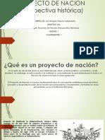 Proyecto de Nacion Exposicion
