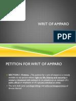 Writ of Amparo May2017 (1)