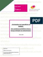 Partizipation von Jugendlichen im Stadtteil- eine sozialwissenschaftliche Untersuchung am Beispiel von Gelsenkirchen, 2010