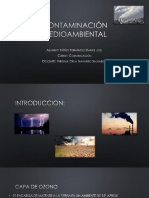 Contaminación medioambienl