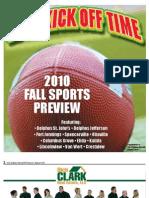 10 Fall Sports