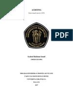 Uts Auditing Syahrul Rakhmat Ismail 2017