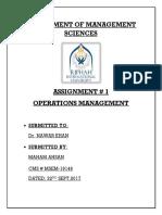 Assignement 1