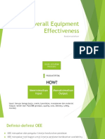 OEE (Overall Equipment Effectiveness)