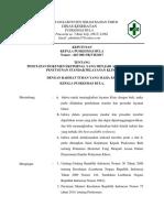 9.2.2 Ep 3 Sk Tentang Penetapan Dokumen Eksternal Yang Menjadi Acuan Dalam Penyusunan Sop