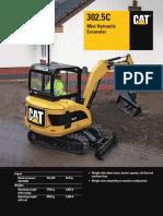 302.5C Mini-Hydraulic Excavator