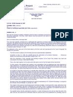 Chi Ming Tsoi vs. Court of Appeals 266 SCRA 324 , January 16, 1997