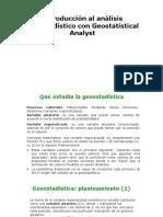introduccinalanlisisgeoestadsticocongeostatisticalanalyst-170126115319
