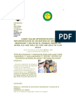 Curso Taller Sgsst - Universidad Nacional Agraria La Molina