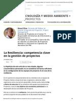 La Resiliencia_ Competencia Clave en La Gestión de Proyectos