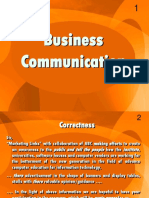 Business Communication - EnG301 Power Point Slides Lecture 10