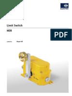 ASIflex No 07d2 Kiepe Limit Switch HER