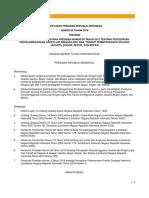 PERPRES NO 65 2016 Perubahan Percepatan LRT