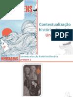 Contextualização Histórico-literária - Unidade 2