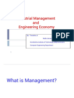 Management Concepts and Industrial Organization1.Pptx 1