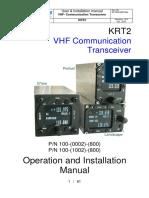 KRT2 Col Manual R12.0 0