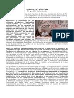 Comunicado Prensa Dept. Psicología 30ago10