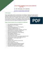 International Journal on Cloud Computing