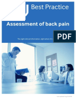 Assessment of Back Pain-BMJ