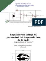 Regulador de Voltaje AC