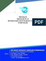 8. Sk & Program Disaster Plan - Final Cetak 31 Agustus 2015