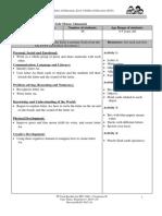 lesson plan letter a-5