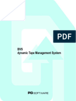 Dynamic Tape Management System