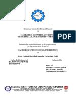 SIP Report on Big Bazaar Copy